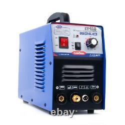 Tig/mma/cut Soudeuse Ct418 Soudeuse Argon Cutter Plasma Et Torche Coupée 4m Pt31