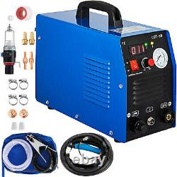 Vevor Cut-50 Invertisseur De Cutter De Plasma D'air 50amp Avec Machine De Coupe De Plasma Numérique